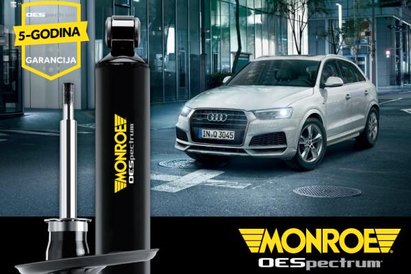 Predstavljeni Monroe OESpectrum – amortizeri za vozače koji zahtijevaju vrhunske vozne karakteristike