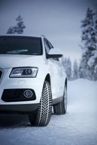 Audi Q5 sa zimskim gumama Goodyear