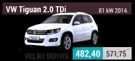 VW Tiguan 2.0 TDi 81 kW veliki servis
